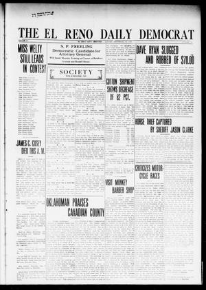 Primary view of object titled 'The El Reno Daily Democrat (El Reno, Okla.), Vol. 24, No. 182, Ed. 1 Monday, September 28, 1914'.