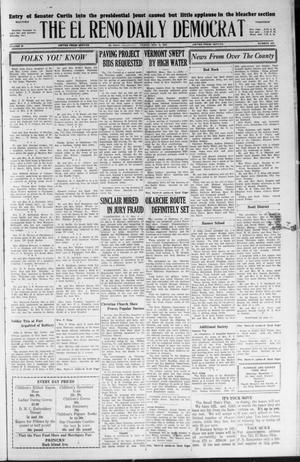 Primary view of object titled 'The El Reno Daily Democrat (El Reno, Okla.), Vol. 36, No. 242, Ed. 1 Friday, November 4, 1927'.