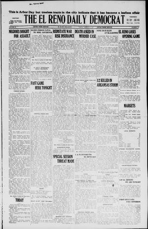 Primary view of The El Reno Daily Democrat (El Reno, Okla.), Vol. 36, No. 49, Ed. 1 Thursday, March 17, 1927