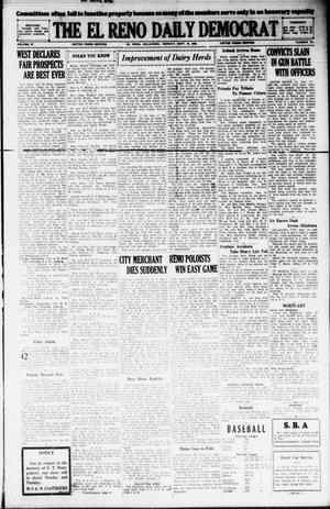 Primary view of The El Reno Daily Democrat (El Reno, Okla.), Vol. 37, No. 191, Ed. 1 Monday, September 10, 1928