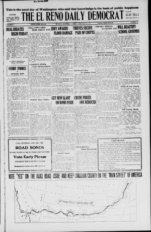 Primary view of The El Reno Daily Democrat (El Reno, Okla.), Vol. 36, No. 28, Ed. 1 Tuesday, February 22, 1927