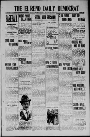 Primary view of The El Reno Daily Democrat (El Reno, Okla.), Vol. 33, No. 267, Ed. 1 Thursday, July 17, 1924