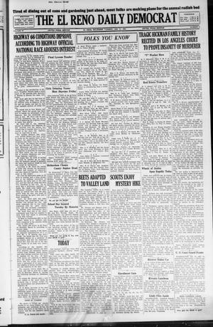 Primary view of The El Reno Daily Democrat (El Reno, Okla.), Vol. 37, No. 3, Ed. 1 Tuesday, January 31, 1928
