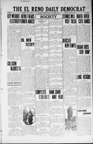 Primary view of The El Reno Daily Democrat (El Reno, Okla.), Vol. 33, No. 58, Ed. 1 Monday, November 12, 1923