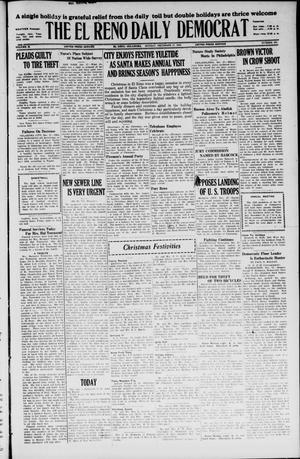 Primary view of The El Reno Daily Democrat (El Reno, Okla.), Vol. 35, No. 292, Ed. 1 Monday, December 27, 1926