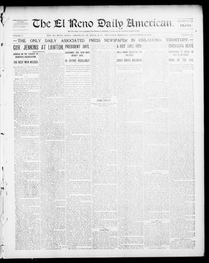 Primary view of object titled 'The El Reno Daily American. (El Reno, Okla. Terr.), Vol. 1, No. 58, Ed. 1 Thursday, September 12, 1901'.