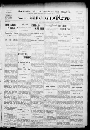 Primary view of object titled 'The American--News. (El Reno, Okla.), Vol. 9, No. 24, Ed. 1 Thursday, September 10, 1903'.