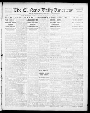 Primary view of object titled 'The El Reno Daily American. (El Reno, Okla. Terr.), Vol. 1, No. 44, Ed. 1 Thursday, August 29, 1901'.