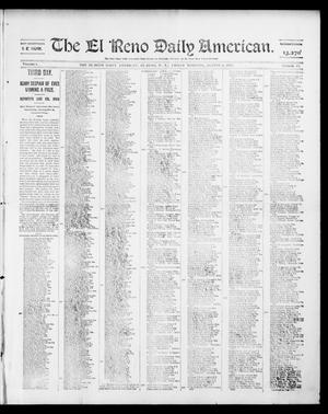 Primary view of object titled 'The El Reno Daily American. (El Reno, Okla. Terr.), Vol. 1, No. 17, Ed. 1 Friday, August 2, 1901'.