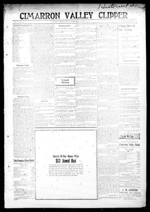 Primary view of object titled 'Cimarron Valley Clipper (Coyle, Okla.), Vol. 11, No. 42, Ed. 1 Thursday, March 7, 1912'.