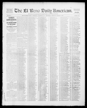 Primary view of object titled 'The El Reno Daily American. (El Reno, Okla. Terr.), Vol. 1, No. 16, Ed. 1 Thursday, August 1, 1901'.