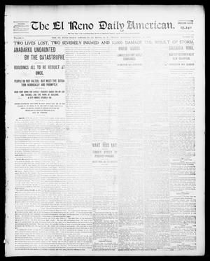 Primary view of object titled 'The El Reno Daily American. (El Reno, Okla. Terr.), Vol. 1, No. 38, Ed. 1 Friday, August 23, 1901'.
