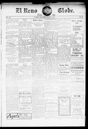Primary view of object titled 'El Reno Daily Globe. And Evening Bell. (El Reno, Okla.), Vol. 8, No. 181, Ed. 1 Thursday, March 26, 1903'.