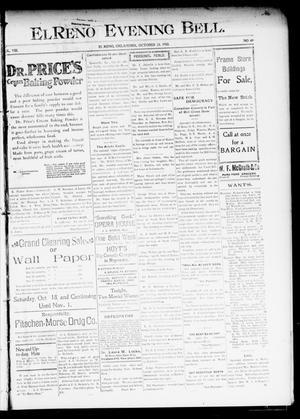 Primary view of El Reno Evening Bell. (El Reno, Okla.), Vol. 8, No. 49, Ed. 1 Thursday, October 23, 1902