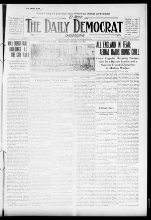 Primary view of object titled 'El Reno The Daily Democrat Oklahoma (El Reno, Okla.), Vol. 25, No. 33, Ed. 1 Friday, April 16, 1915'.