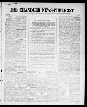 Primary view of object titled 'The Chandler News-Publicist (Chandler, Okla.), Vol. 25, No. 9, Ed. 1 Friday, November 12, 1915'.