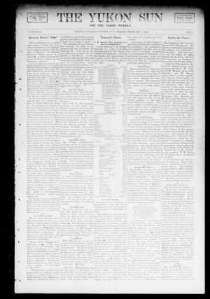 Primary view of object titled 'The Yukon Sun And The Yukon Weekly. (Yukon, Okla. Terr.), Vol. 10, No. 6, Ed. 1 Friday, February 7, 1902'.