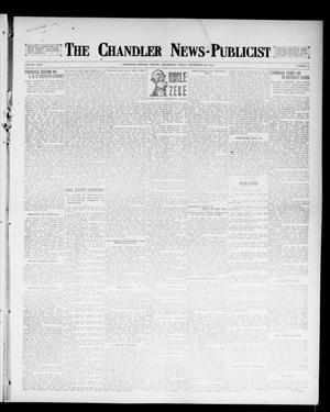 Primary view of object titled 'The Chandler News-Publicist (Chandler, Okla.), Vol. 26, No. 3, Ed. 1 Friday, September 29, 1916'.