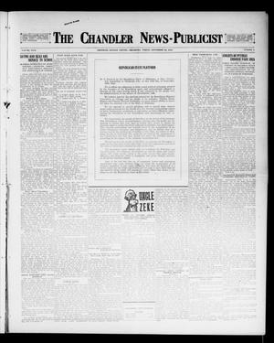 Primary view of object titled 'The Chandler News-Publicist (Chandler, Okla.), Vol. 26, No. 2, Ed. 1 Friday, September 22, 1916'.