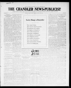 Primary view of object titled 'The Chandler News-Publicist (Chandler, Okla.), Vol. 25, No. 35, Ed. 1 Friday, May 12, 1916'.