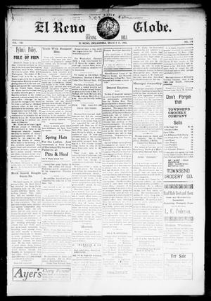 Primary view of object titled 'El Reno Daily Globe. And Evening Bell. (El Reno, Okla.), Vol. 8, No. 178, Ed. 1 Monday, March 23, 1903'.