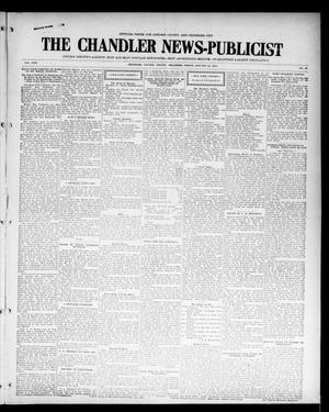 Primary view of object titled 'The Chandler News-Publicist (Chandler, Okla.), Vol. 24, No. 19, Ed. 1 Friday, January 22, 1915'.