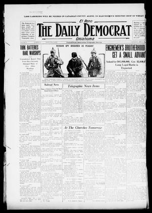 Primary view of object titled 'El Reno The Daily Democrat Oklahoma (El Reno, Okla.), Vol. 25, No. 46, Ed. 1 Saturday, May 1, 1915'.