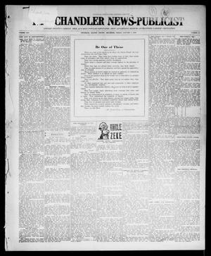 Primary view of object titled 'The Chandler News-Publicist (Chandler, Okla.), Vol. 25, No. 17, Ed. 1 Friday, January 7, 1916'.
