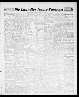 Primary view of object titled 'The Chandler News-Publicist (Chandler, Okla.), Vol. 27, No. 19, Ed. 1 Friday, January 18, 1918'.