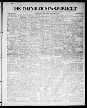 Primary view of object titled 'The Chandler News-Publicist (Chandler, Okla.), Vol. 23, No. 23, Ed. 1 Friday, February 20, 1914'.