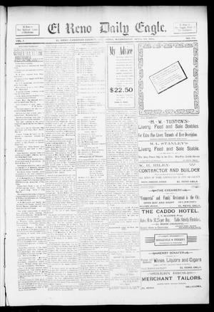 Primary view of object titled 'El Reno Daily Eagle. (El Reno, Okla.), Vol. 1, No. 174, Ed. 1 Wednesday, April 24, 1895'.