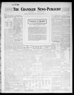 Primary view of object titled 'The Chandler News-Publicist (Chandler, Okla.), Vol. 23, No. 5, Ed. 1 Friday, October 17, 1913'.