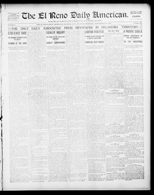 Primary view of object titled 'The El Reno Daily American. (El Reno, Okla. Terr.), Vol. 1, No. 69, Ed. 1 Tuesday, September 24, 1901'.