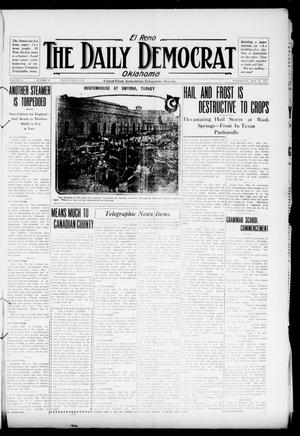 Primary view of object titled 'El Reno The Daily Democrat Oklahoma (El Reno, Okla.), Vol. 25, No. 61, Ed. 1 Wednesday, May 19, 1915'.