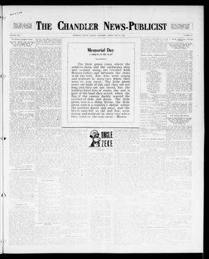 Primary view of object titled 'The Chandler News-Publicist (Chandler, Okla.), Vol. 25, No. 37, Ed. 1 Friday, May 26, 1916'.