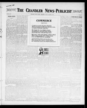 Primary view of object titled 'The Chandler News-Publicist (Chandler, Okla.), Vol. 26, No. 5, Ed. 1 Friday, October 13, 1916'.