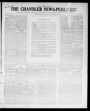 Primary view of object titled 'The Chandler News-Publicist (Chandler, Okla.), Vol. 25, No. 10, Ed. 1 Friday, November 19, 1915'.