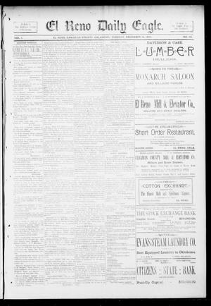 Primary view of object titled 'El Reno Daily Eagle. (El Reno, Okla.), Vol. 1, No. 65, Ed. 1 Tuesday, December 18, 1894'.