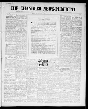 Primary view of object titled 'The Chandler News-Publicist (Chandler, Okla.), Vol. 25, No. 15, Ed. 1 Friday, December 24, 1915'.