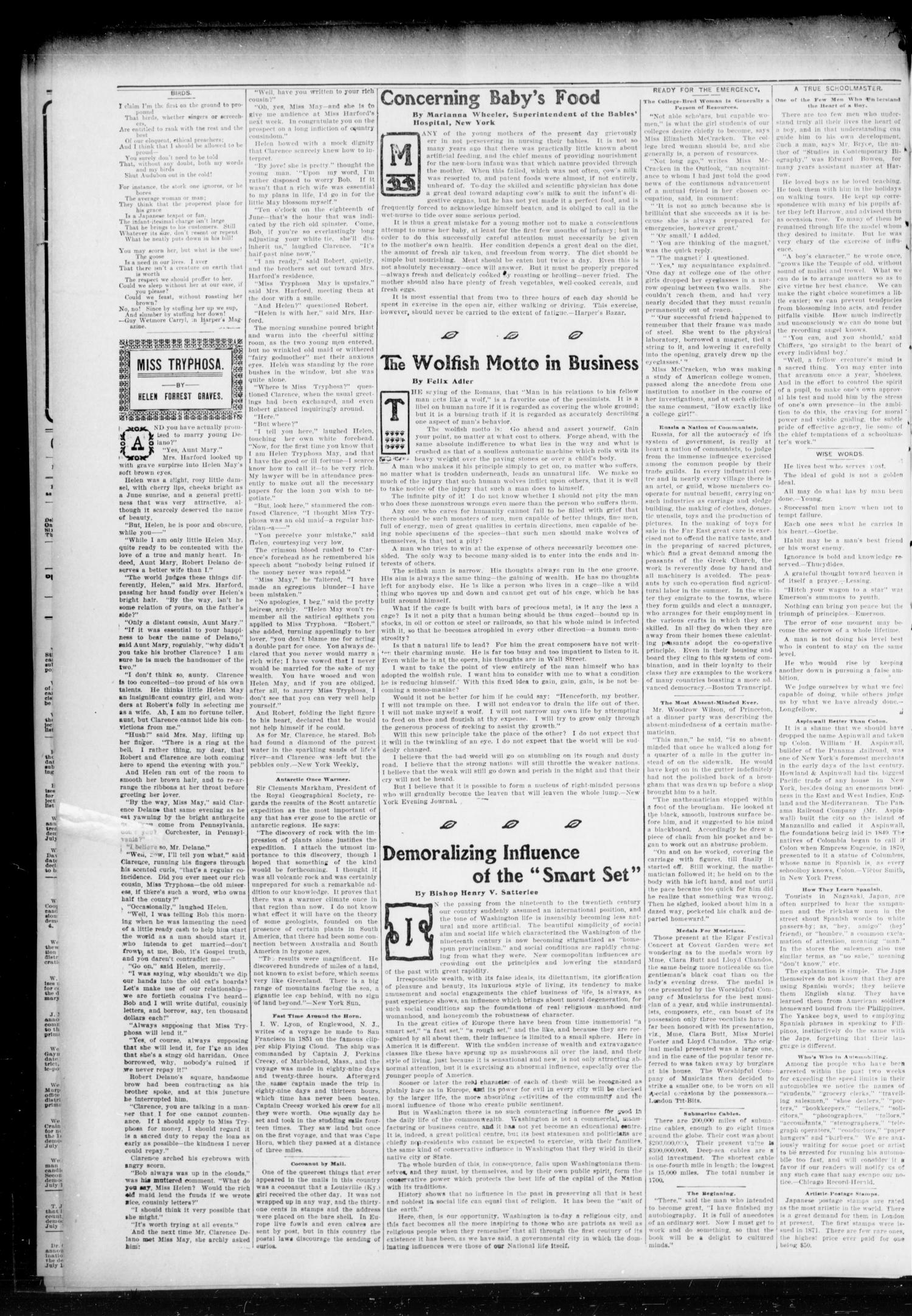Chandler Daily Publicist. (Chandler, Okla. Terr.), Vol. 3, No. 74, Ed. 1 Monday, June 27, 1904                                                                                                      [Sequence #]: 4 of 4