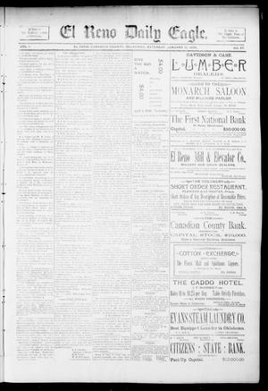 Primary view of object titled 'El Reno Daily Eagle. (El Reno, Okla.), Vol. 1, No. 87, Ed. 1 Saturday, January 12, 1895'.