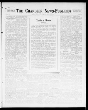 Primary view of object titled 'The Chandler News-Publicist (Chandler, Okla.), Vol. 25, No. 36, Ed. 1 Friday, May 19, 1916'.