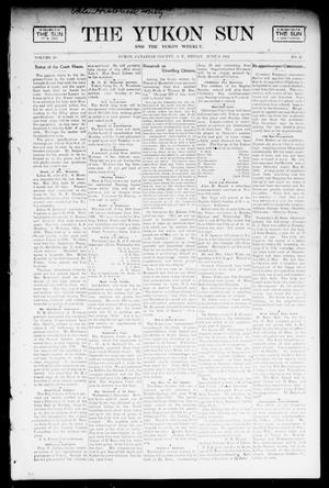 Primary view of object titled 'The Yukon Sun And The Yukon Weekly. (Yukon, Okla. Terr.), Vol. 10, No. 23, Ed. 1 Friday, June 6, 1902'.