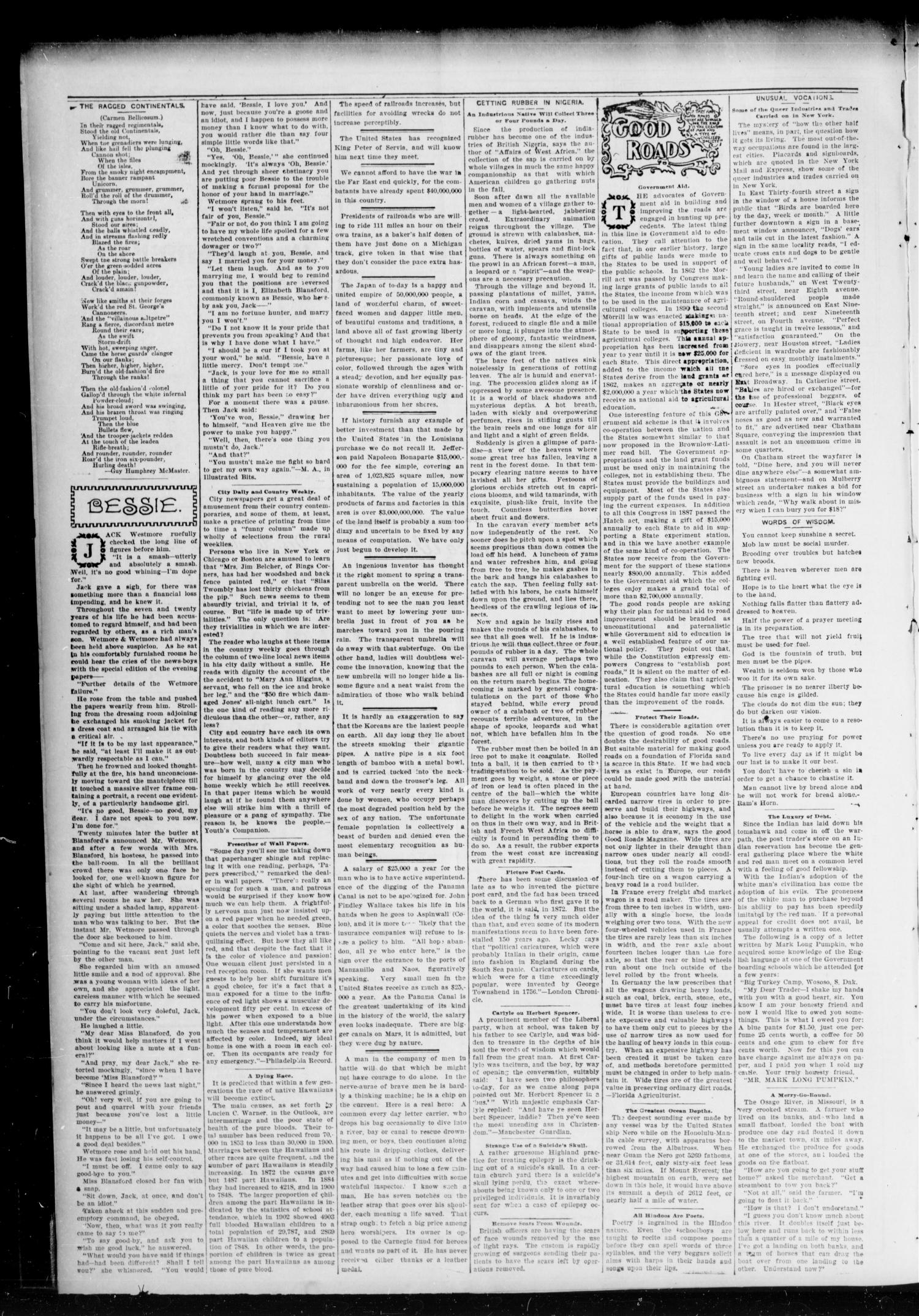 Chandler Daily Publicist. (Chandler, Okla. Terr.), Vol. 3, No. 69, Ed. 1 Tuesday, June 21, 1904                                                                                                      [Sequence #]: 4 of 4