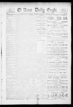 Primary view of object titled 'El Reno Daily Eagle. (El Reno, Okla.), Vol. 1, No. 102, Ed. 1 Wednesday, January 30, 1895'.