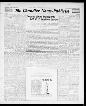 Primary view of object titled 'The Chandler News-Publicist (Chandler, Okla.), Vol. 27, No. 22, Ed. 1 Friday, February 8, 1918'.
