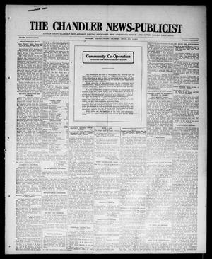 Primary view of object titled 'The Chandler News-Publicist (Chandler, Okla.), Vol. 23, No. 42, Ed. 1 Friday, July 3, 1914'.