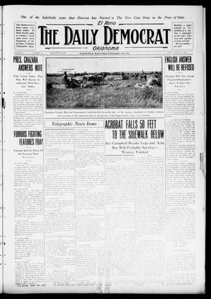Primary view of object titled 'El Reno The Daily Democrat Oklahoma (El Reno, Okla.), Vol. 25, No. 87, Ed. 1 Friday, June 18, 1915'.