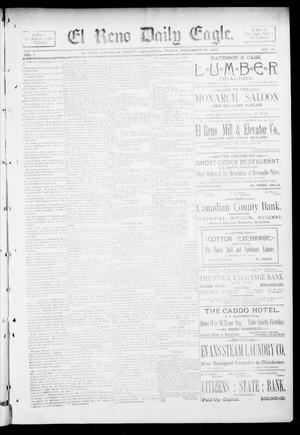 Primary view of object titled 'El Reno Daily Eagle. (El Reno, Okla.), Vol. 1, No. 74, Ed. 1 Friday, December 28, 1894'.