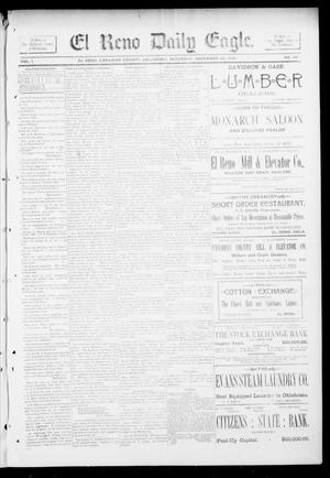 Primary view of object titled 'El Reno Daily Eagle. (El Reno, Okla.), Vol. 1, No. 69, Ed. 1 Saturday, December 22, 1894'.